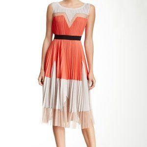BCBGeneration Lucea Colorblocked A-Line Dress
